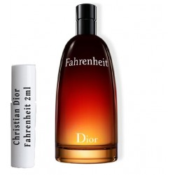 Christian Dior Fahrenheit samples Edt