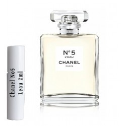 Chanel N5 L'eau Samples Eau de Parfum