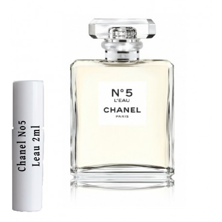 Chanel N5 L'eau Samples 2ml