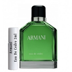 Armani Eau De Cedre samples