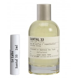Le Labo Santal 33 samples 2ml