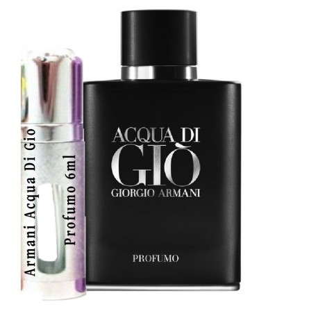 Armani Acqua Di Gio Profumo samples 6ml