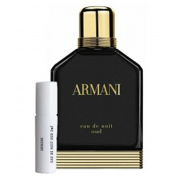 Armani Eau De Nuit Oud samples 2ml