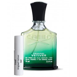 les échantillons Creed Original Vetiver
