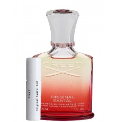 les échantillons Creed Original Santal