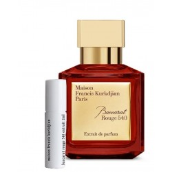 Maison Francis KURKDJIAN Baccarat Rouge 540 Extrait samples 2ml