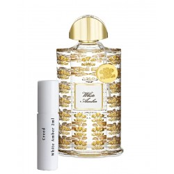 les échantillons Creed White Amber 2ml