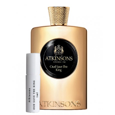 Atkinsons Oud Save The King samples 1ml