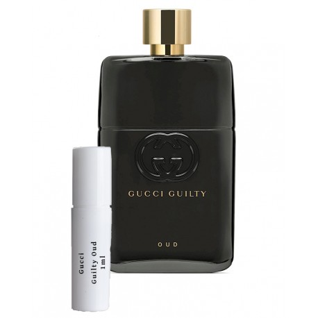 Gucci Guilty Oud For Men samples 1ml