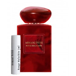 Armani Prive Rouge Malachite samples