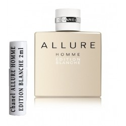 Chanel ALLURE HOMME EDITION BLANCHE Amostras de Perfume 2ml
