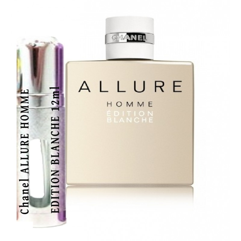 Chanel Allure Homme Edition Blanche Samples