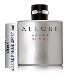 Chanel ALLURE HOMME SPORT Amostras de Perfume 2ml