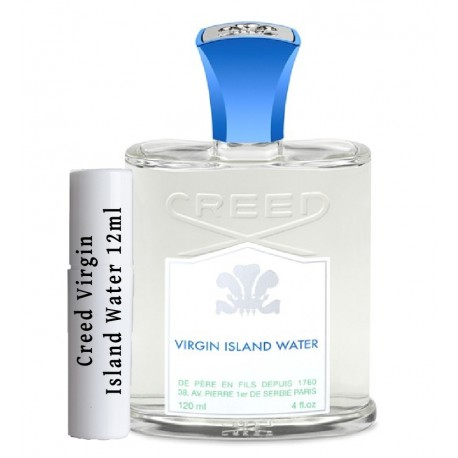 les échantillons Creed Virgin Island Water 2ml
