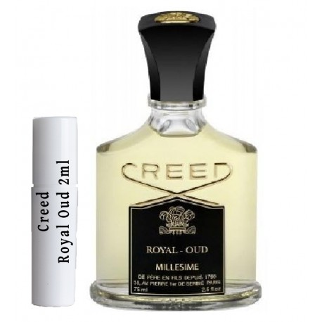 les échantillons Creed Royal Oud 2ml