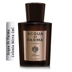 Les échantillons Acqua Di Parma Colonia Mirra 2ml