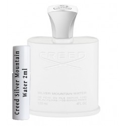 les échantillons Creed Silver Mountain Water 2ml