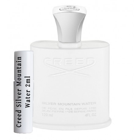 Creed Silver Mountain Water Staaltjes 2ml