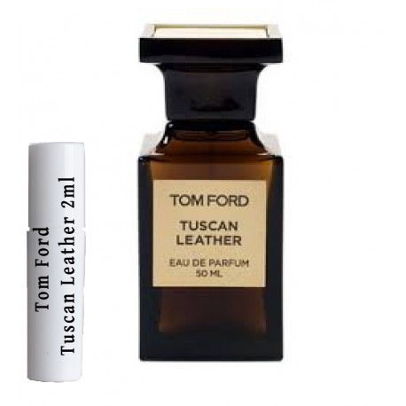 les échantillons Tom Ford Tuscan Leather 2ml
