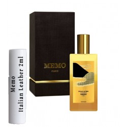 Memo Italian Leather Staaltjes 2ml